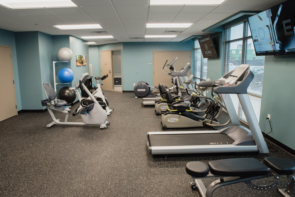 Take a Tour - Amenities - Fitness Center